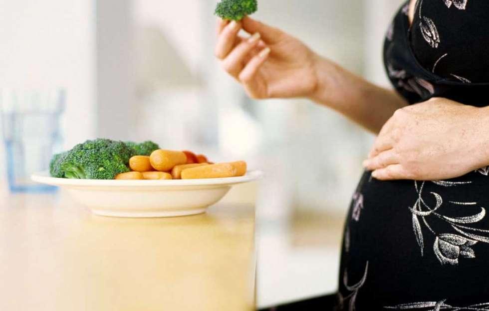 الحمل والتغذية