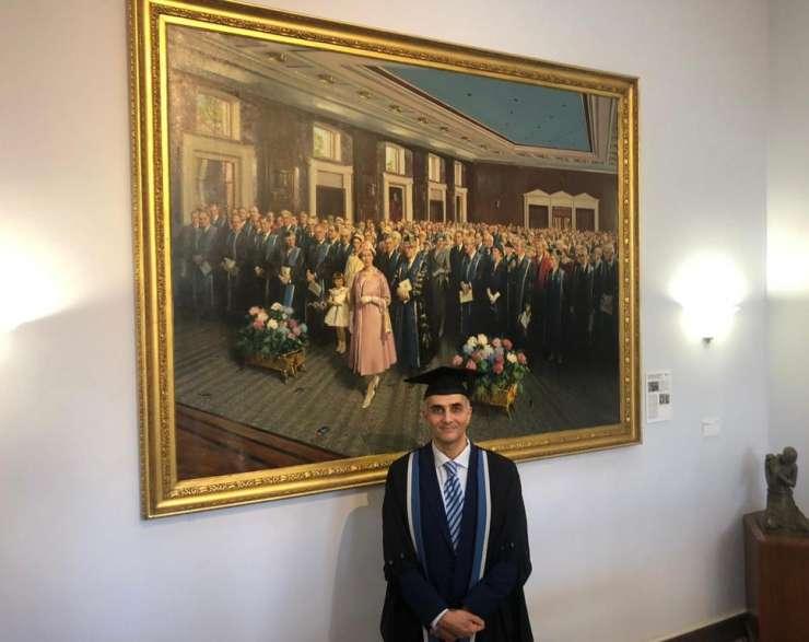 حفل تخرج زمالة الكلية الملكية ببريطانيا لندن ٢٠١٨