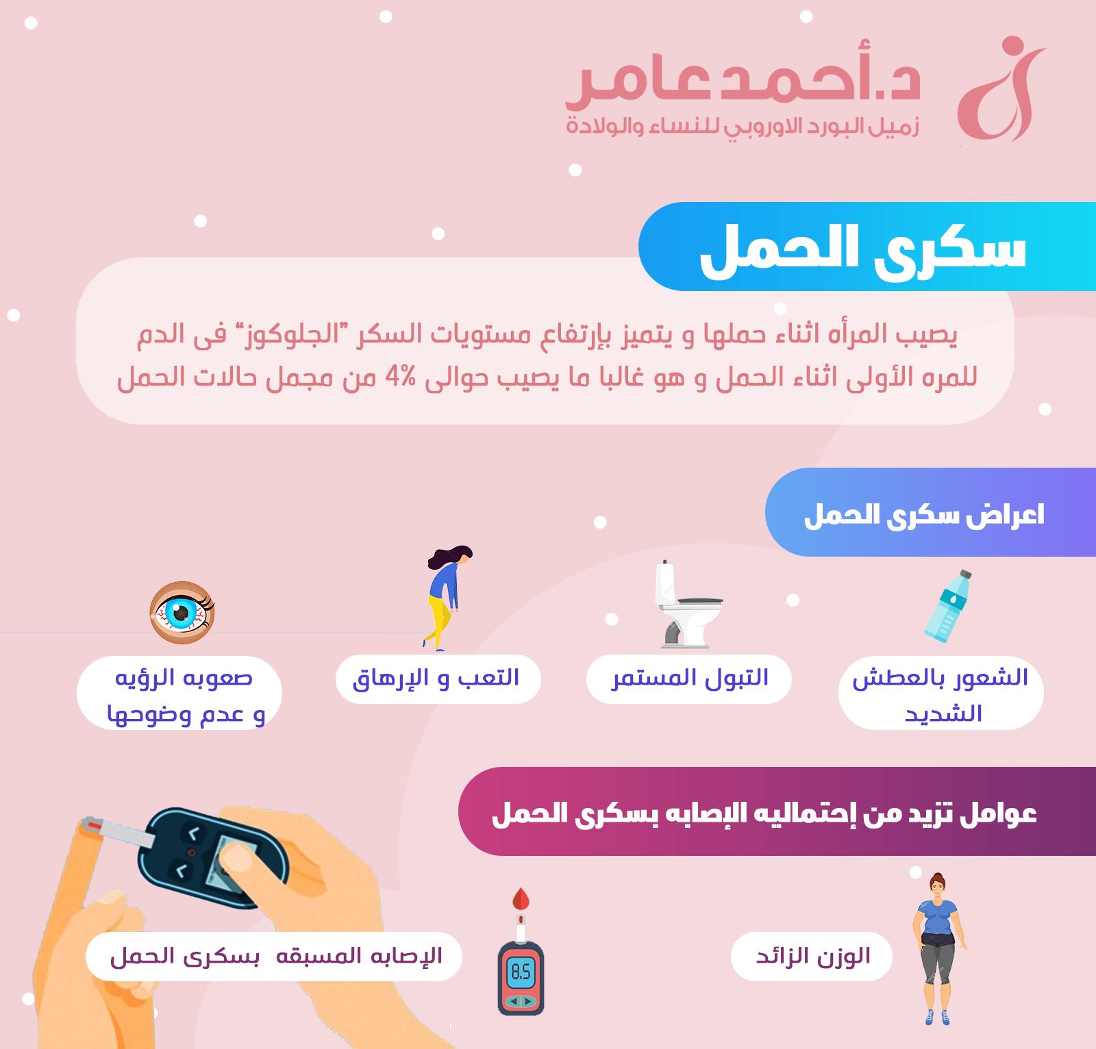 سكري الحمل وأعراضه
