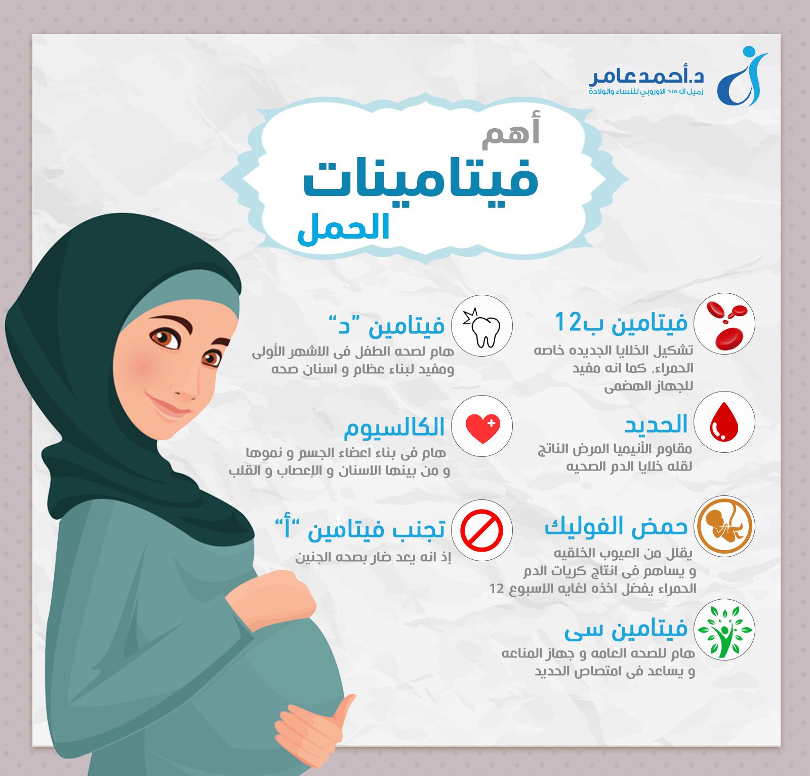 فيتامينات الحمل