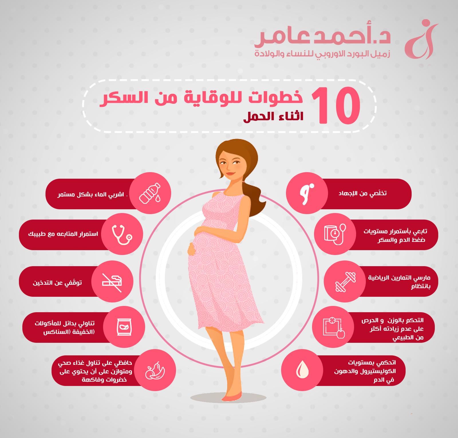 الوقاية من سكر الحمل